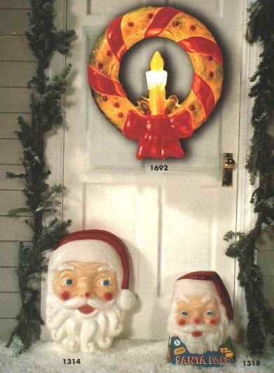 General Foam Plastics Corp Holiday Decoration's authorized etailer. Illuminated Christmas Wreath