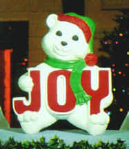 Joy Bear 14inches tall - Item Number GF C4710 by General Foam Plastics