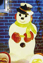 Snowman - Item Number GF C5270 by General Foam Plastics Corp